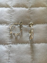 Silver earrings  Mississauga, L5E