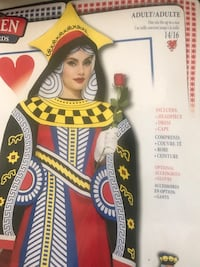 Awesome queen of hearts costume  San Diego, 92139
