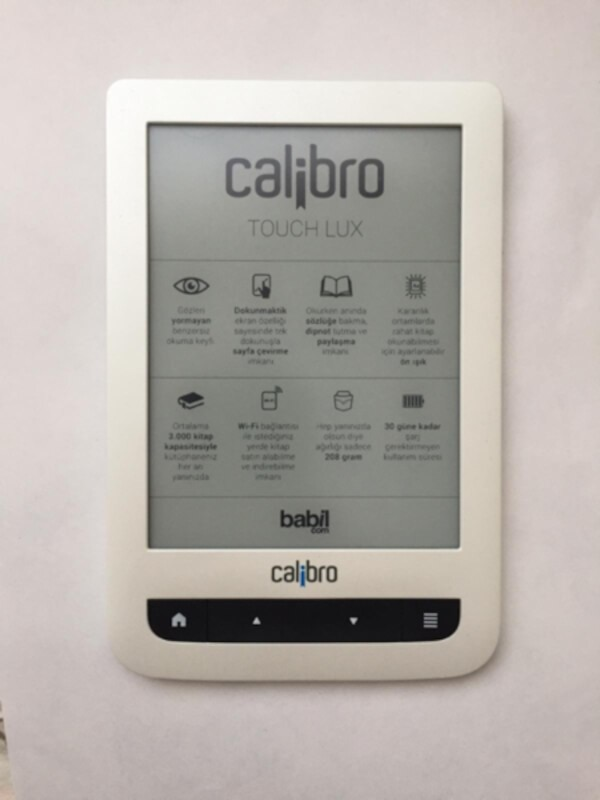 Calibro Touch Lux (e-book) 2