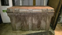 gray and brown plastic tool box Indianapolis, 46236
