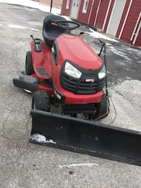 LAWN MOWER W/ PLOW AND CUTTING DECK
