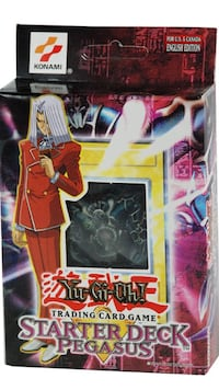 Yu-gi-oh Pegasus starter deck factory sealed Unopened Barrie