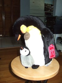 New Penguin parent and baby soft toy  Yomiko Classics Mississauga