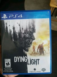 Dying Light PS4 game case Surrey, V3V 1C2