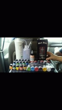 assorted color nail polish bottles Thomasville, 27360