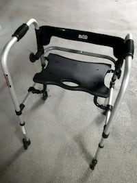 DRIVE TWO WHEEL WALKER WITH SEAT  Port Moody