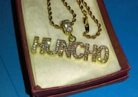 'Huncho' pendant and Gold Chain  Greenville, 29615