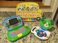 3 Leapfrog Learning Consoles Burlington, 01803