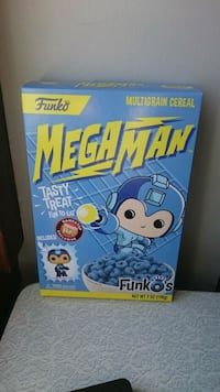 FUNKO Megaman cereal with toy  Saint Catharines