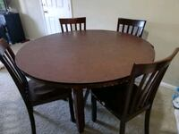 Dining Table with four chairs Fairfax, 22033