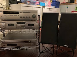 Yamaha Stereo System for sale