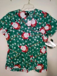 Scrub top. Size small.  Brand new with tags Ballwin