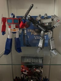 Transformers Masterpiece Optimus and Megatron Los Angeles, 91402