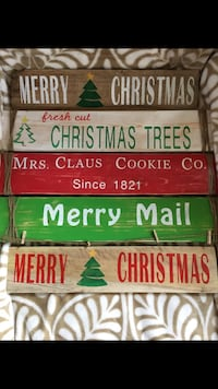 Customizable Pallet signs