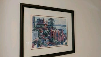 Framed Wood Print