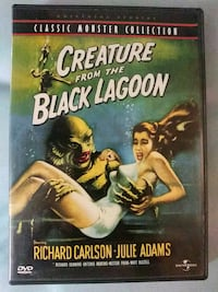Creature from the Black Lagoon dvd Baltimore