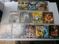 12 assorted Sony PS3 game case lot Falling Waters, 25419