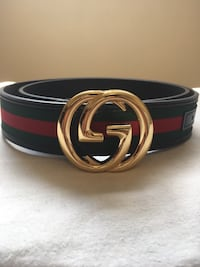 Gold Buckle on Black Gucci Rep Belt Mississauga, L5N 7G3