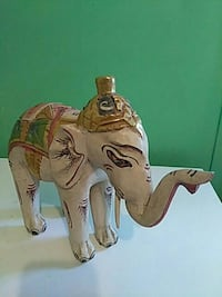 brown and white elephant figurine Delray Beach, 33483