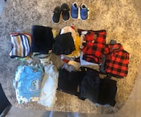 Baby boy clothes 6-18 months