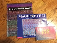 Magic eye books and Where are they books  London, N6J 3Z6