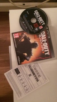 Sony ps3 call of duty spill