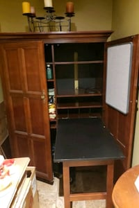 Real wood Armoire Desk Yonkers, 85268