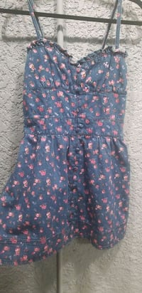 blue and pink floral sleeveless dress El Monte, 91732