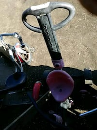 toddler's black and pink trike Bakersfield, 93308