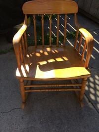 PINE ROCKING CHAIR CHILDRENS