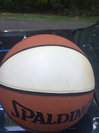 Autographed basketball by KC Jones