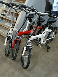New electric folding bikes $899