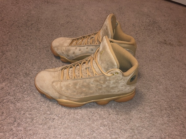 "36855ad9a3d21a Used Used Jordan Retro 13 ""Wheat"