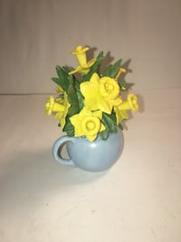 Lenox Flower Figurine Vintage 1989 April Daffodils Country Garden Freehold, 07728
