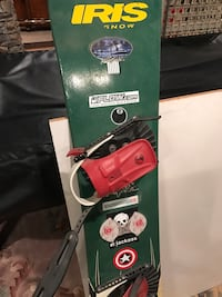 Red black and green snoiwboard Fallston, 21047