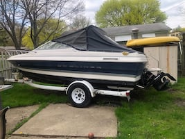 1997 bayliner 19 ft 7 in  boat