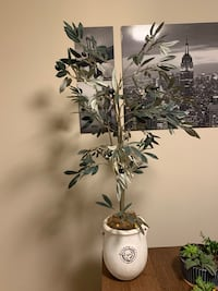 Artificial Olive tree home decor 45''