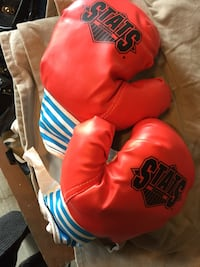 red Stats boxing gloves Whitby, L1N