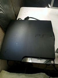 console noire Sony PS3 slim