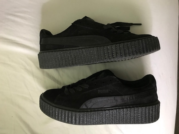 low priced aa1a4 ca7f1 Rihana Puma Fenty Creepers