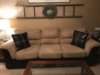 Couch and chair with ottoman Golden, 80403