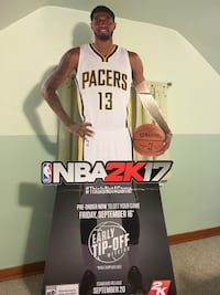NBA 2k Standee and Limited edition posters Beaver Falls, 15010