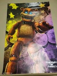 Five nights at Freddy's poster North Attleborough