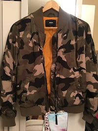 skogkamo camo full zip jacket