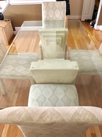 Italian dining table with 4 chairs Fairfax