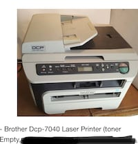 Brother laser printer no ink St Catharines, L2M 2V3