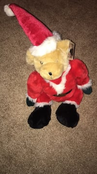 Toy works Santa bear Hamilton, L9G 1S6