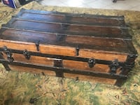 Antique Vintage trunk from early 1900's. Virginia Beach, 23454