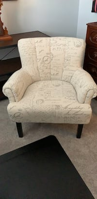 White and gray side chair Henderson, 89015