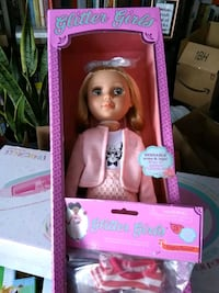 Brand new glitter girls fifer toy doll w/ extra outfit by battat toys Toronto, M4C 4X6